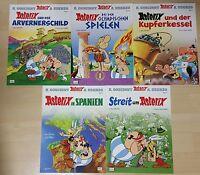 Comics Asterix & Obelix Sammlung Band 11,12,13,14,15,ungelesen/neuwertig 1A