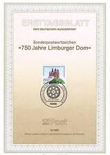 BRD 1985: Limburger Dom! Ersttagsblatt der Nr 1250 mit Bonner Sonderstempel! 156