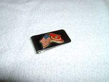 Marines USA Flag Money Clip New no box