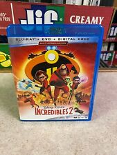 LIGHTLY USED (Played Once) BLU-RAY DVD Disc Disney Pixar INCREDIBLES 2