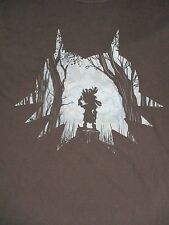 L blue CHILD ELF IN A FOREST t-shirt by GILDAN