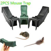 2PCS Reusable Humane Mouse Trap Rat Bait Box Safe Mice Pest Catcher Auto Conteol
