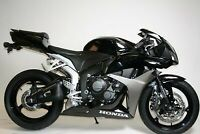 R&G Black Crash Protectors - Aero Style for Honda CBR600RR 2007