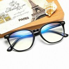 Unisex Fashion Clear Lens Anti Blue Light Filter Gaming TV PC Glasses Frames UK