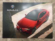 2018 ALFA ROMEO GIULIA 42-page Original Sales Brochure