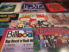 CRUISIN YEARS 1960 62 Rock 'n' Radio DJ'S & ARTISTS+BILLBOARD 63 +67 BEAT 9 LP'S