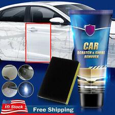Car Scratch Repair Polishing Wax Body Compound Repair Polish Paint Care+Sponge