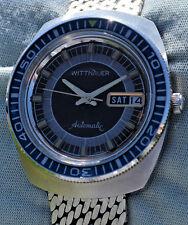 Rarissimo orologio WITTNAUER inacciaio con ghiera girevole in bachelite