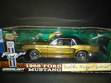 Greenlight Ford Mustang GT 1968 Golden Nugget 1/18 Limited Edition