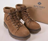 Sperry NWB Boots Size 10.5 M Watertown LTT Tan Suede $160