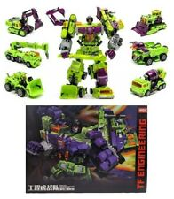 Transformers Devastator Constructicons 6 in 1 TF Engineering NBK G1 Trucks  16