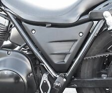 OUTLAW CYCLE PRODUCTS FXR SIDE COVERS 1982-1994 BLACK HARLEY