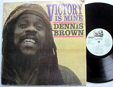 DENNIS BROWN Victory Is Mine LP Reggae LEGGO