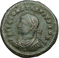 Constantius II  Constantine the Great  son 324AD Ancient Roman Coin Gate i34062
