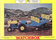 Matchbox RW Puzzle Nr.39C/40 Tractor & Trailer 1969 USA