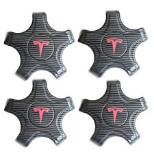Carbon Car Styling Wheel Center Hub Cap Hubcap For Tesla Model 3 Accessories