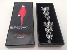 Blingbacks Farfalla Design Scarpa Jewellery-Nuovo E Inscatolato