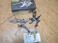 Arrow Fussrasten Anlage Kawasaki ZX9R Artikel 11060SPG  Footpag