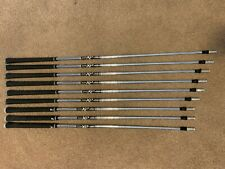 True Temper XP 95 S300 Taper Tip Steel Iron Shaft 5-PW + 3 W (9 Pcs) with Grips