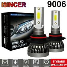 2x CREE 9006 LED Headlight Conversion Bulbs 1200W 180000LM Hi/Lo Beam Lamp 6000K