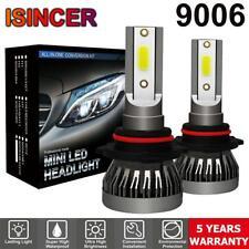 2x CREE 9006 LED Headlight Conversion Bulbs 1200W 180000LM Hi/Lo Beam Lamp 6000K