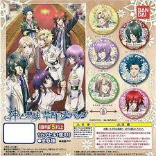 Bandai Kamigami no Asobi Ludere deorum Pin Badge Set of 6