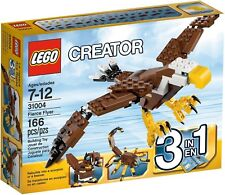 LEGO Creator 31004 Fierce Flyer Building Kit Features a 3-IN-1 Model 166 pcs
