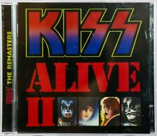 KISS CD - REMASTERED - ALIVE II - 2 CDS - 1997 - KISS MERCHANDISE - C192001