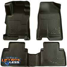 Husky Liners 98521 Black Front & 2nd Row Floor Liners Set for 04-09 Toyota Prius
