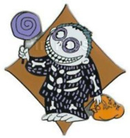 Disney Pin 64580 DS Nightmare Before Christmas NBC Barrel in Skeleton Costume