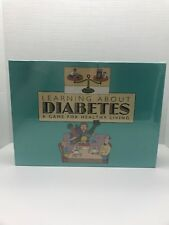 Learning About Diabetes A Game Healthy Living Children Board Game Sealed 2000