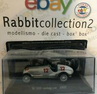 "DIE CAST "" W 125 RACING CAR - 1937 "" MERCEDES COLLECTION 1/43 (41)"