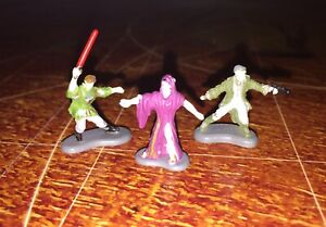 Micro Machines Star Wars Epic Collections VI Courtship Of Princess Leia Fig Lot