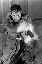 Harrison Ford As Rick Deckard Firing Gun In Blade Runner 11x17 Mini Poster
