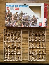 1/72 scale Modern U.S. Soldiers from Amt ERTL