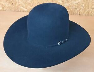 Outback Ranch 5X Lubbock Black Cool Hand Luke CHL Crown Felt Cowboy Hat