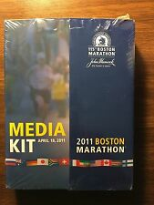 2011 Boston Marathon Media Guide Kit New Unopened April 18 Records History Baa
