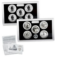 2018 -S Silver Reverse Proof America the Beautiful Quarter Set