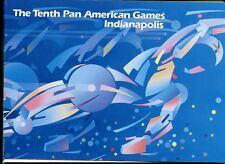SOUVENIR FOLDERS - The Tenth American Games Indianapolis August 8, 1987