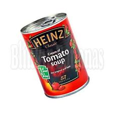 HEINZ TOMATO SOUP HIDE KEEP MONEY REAL SAFE FAKE FALSE TIN CAN SECURITY CASH BOX