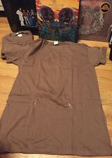 Lot 3 Vintage 90s US Army Military Undershirt Sleeve Crew Neck Brown T Shirt.