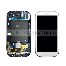 LCD Touch Screen Digitizer w/ Frame Assembly For Samsung Galaxy S3 i535 R530 USA