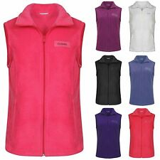 Ladies Ex Chainstore Sleeveless Soft Fleece Gilets Sizes 12-20