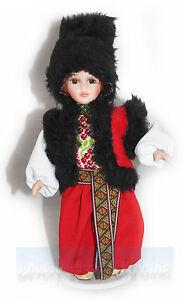 Fashion Ukrainian National Ethnographic COSTUMED DOLL Cossack ~ Hand Embroidered