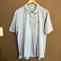 NWT Lacoste Pima Cotton Light Blue Short Sleeve Polo Size Small