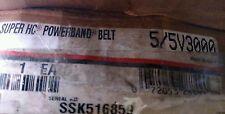 Gates 5/5V3000 Super HC PowerBand V-Belt - 9386-5300