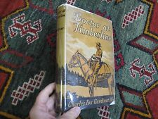 Frontier Pioneer Physician Doctor At Timberline Charles Fox Gardiner DJ 1st 1938