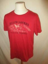 T-shirt Ralph Lauren Rouge Taille L à - 55%