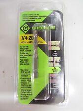 Greenlee Drill/Tap Bit 1/4-20  NEW Drill, tap, debur #DTAP1/4-20  NEW