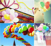 100pcs Colorful Pearl Latex Balloon Celebration Party Wedding Birthday 10''